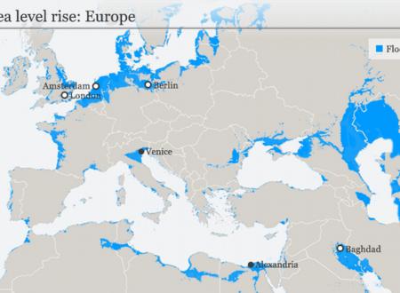 Clima: apocalittico innalzamento dei mari sommergerà molte città