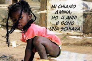 Amina, 4 anni, schiava