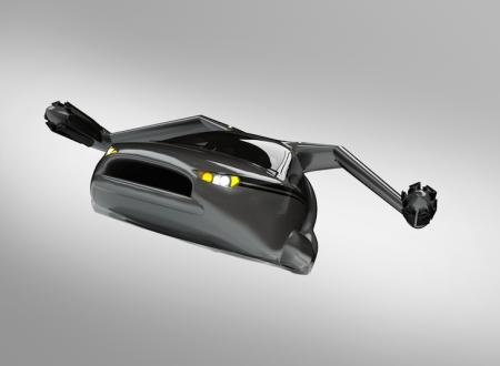 Terrafugia TF-X la prima auto volante