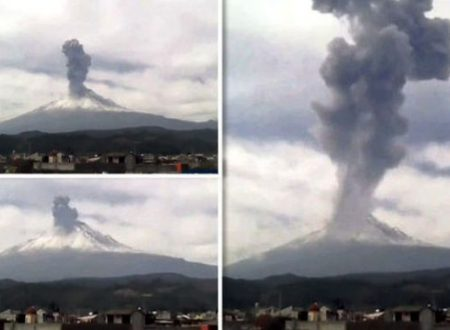 Allarme rosso vulcani, prevista evacuazione di massa