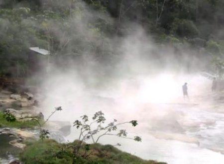 Shanay Timpishka il leggendario fiume che bolle
