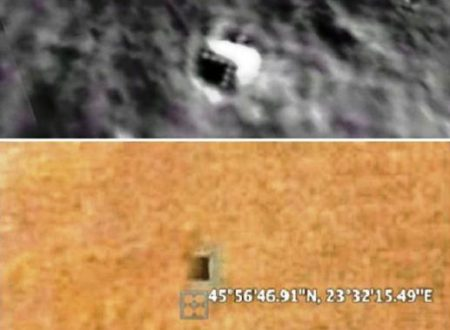 Identiche basi sotterranee aliene sulla Luna e su Marte (+video)