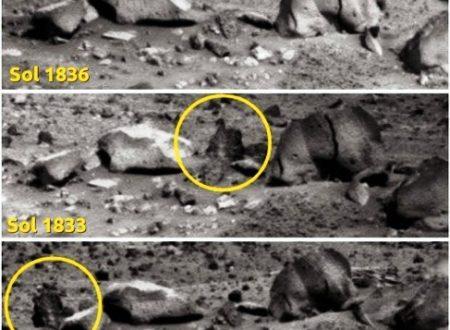 Marte: forme di vita o pietre in movimento?
