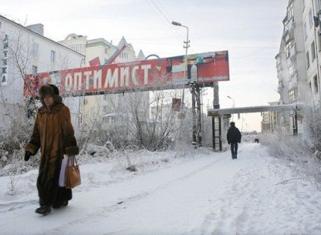 Yakutsk in Siberia è la città più fredda del mondo