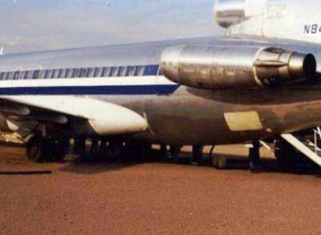 Storie misteriose: il caso del Boeing 727-223 N844AA
