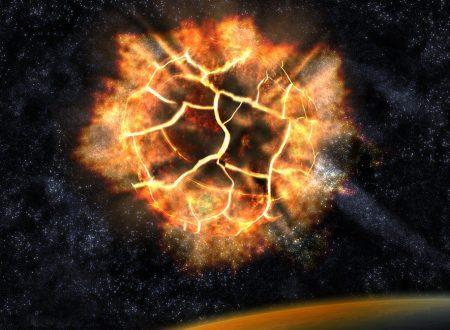 Nel 1178 cinque monaci a Canterbury hanno visto la Luna esplodere