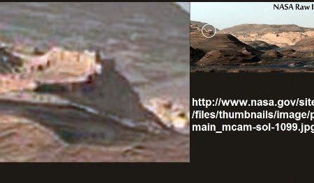 Grosso muro scoperto su Marte nelle immagini ufficiali NASA