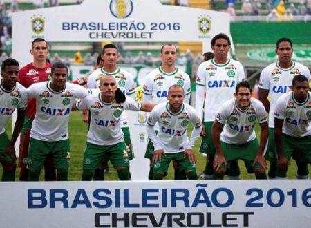 Distrutta la squadra di calcio brasiliana della Chapecoense