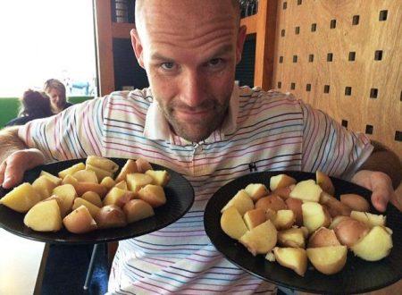 Un uomo perde 46 kg con la sua personale dieta di patate