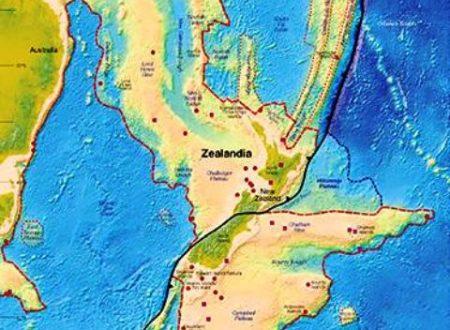 Scoperto Zealandia, il nuovo continente della Terra