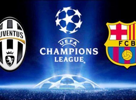 Champions League: la Juventus abbatte il Barcellona