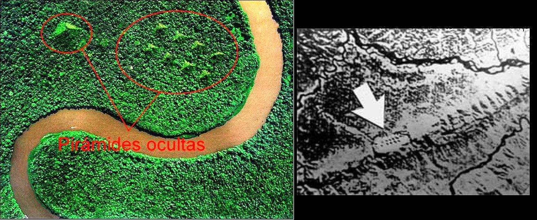 Hình ảnh được vệ tinh Landsat chụp ở rừng Amazon. Đây phải chăng là dấu vết của một nền văn minh tiền sử.