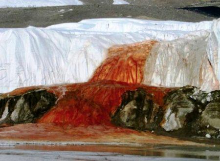Blood Falls, Antartide: risolto il mistero delle cascate di sangue