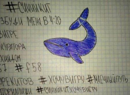 Blue Whale: per vincere in questo macabro gioco bisogna suicidarsi