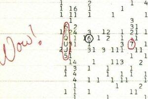 Risolto il mistero del segnale Wow!