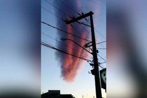Nube apocalittica appare su città brasiliana