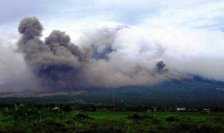 Eruzione vulcano Mayon