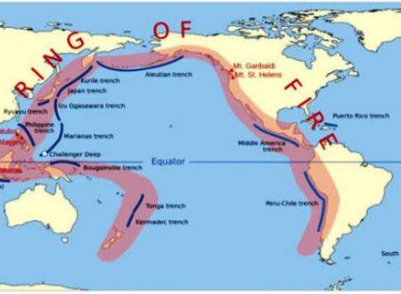 Anello di Fuoco iperattivo: eruzioni e terremoti