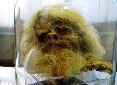 Le mummie degli uomini del sale di 1800 anni fa