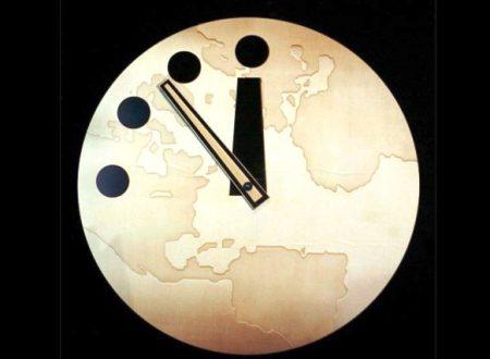 Doomsday Clock: l'orologio dell'Apocalisse