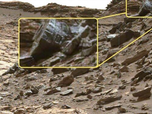 Altre sorprendenti immagini di rovine marziane