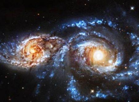 Hubble scopre due galassie in collisione
