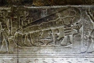 Elettricità antico Egitto