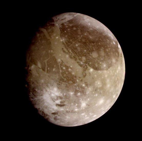 Ganimede - luna di Giove
