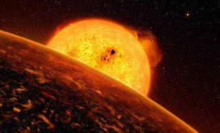 CoRoT-7b pianeta dove nevica rocce