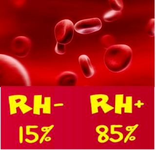 Sangue RH negativo