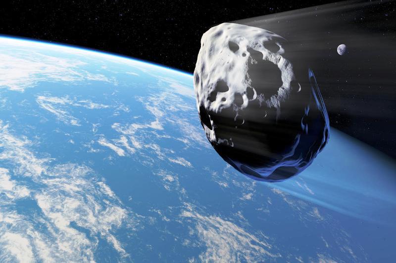 Piccolo asteroide e Terra