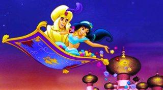 Il tappeto volante di Aladino