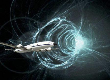 Aereo risucchiato da una distorsione spazio-temporale?