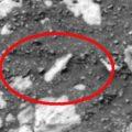 Mars Curiosity e dettaglio bottiglia