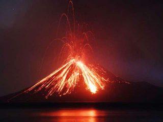 Anak Krakatau (figlio di Krakatoa)