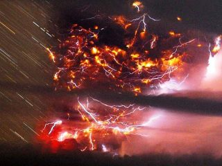 Fulmini vulcanici