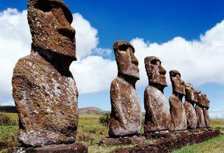 Moai isola Rapa Nui