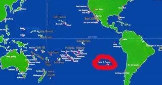 Polinesia e posizione Rapa Nui