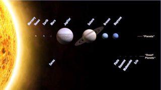 Sistema Solare - Pianeti e pianeti nani