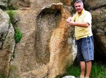 Impronta gigante di 200 milioni di anni fa