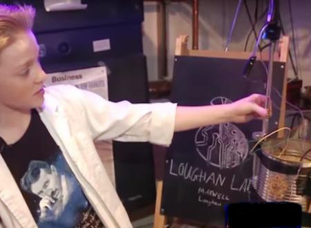 Un 13enne inventa dispositivo di energia libera tipo Tesla
