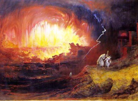 Sodoma e Gomorra distrutte dall'esplosione di un asteroide