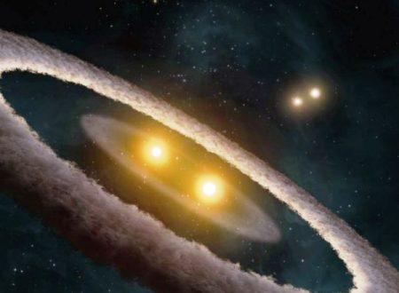 Scoperto un insolito ed unico sistema stellare binario