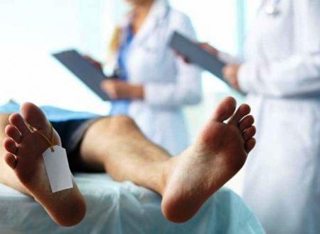Sindrome di Lazzaro, uomo dichiarato morto resuscita