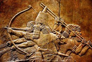 Assyrian bassorilievo