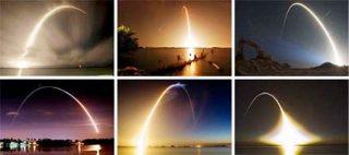 NASA - traiettorie di lancio