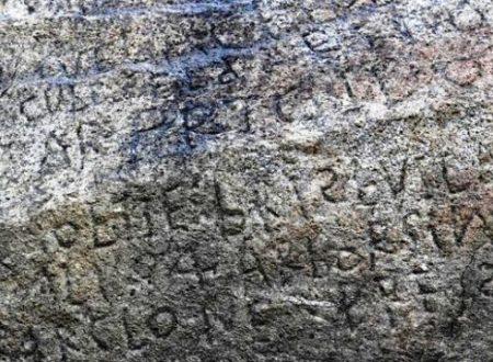 Se decifri questa antica roccia guadagni €2.000