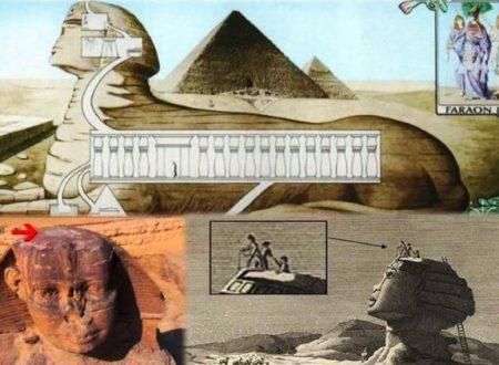 La testa della Grande Sfinge è l'entrata di una città segreta?