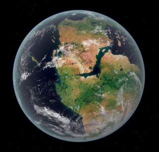 Homo Sapiens I - Pangea la Terra milioni di anni fa
