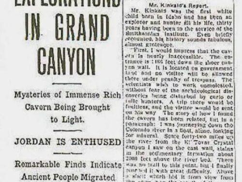 La misteriosa città sotterranea del Grand Canyon